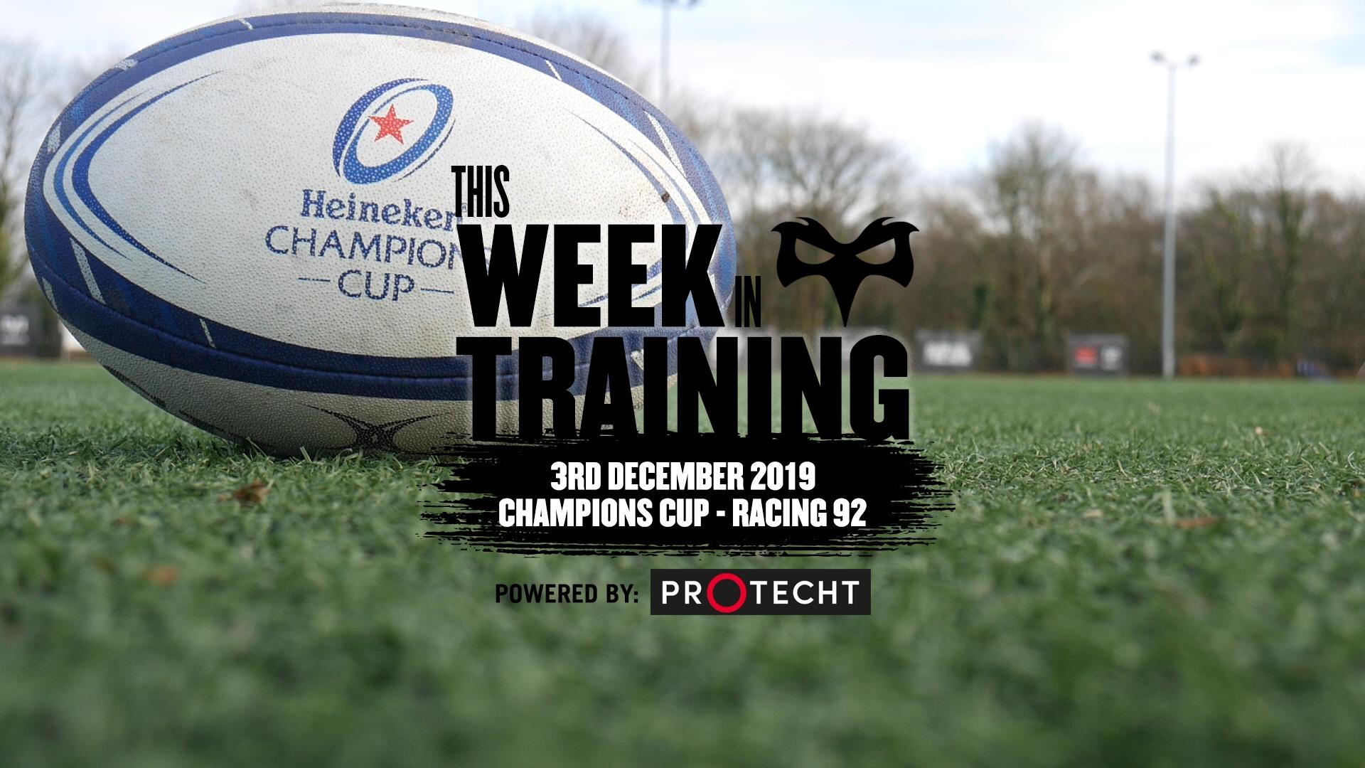This Week in Training 3rd Dec Thumbnail