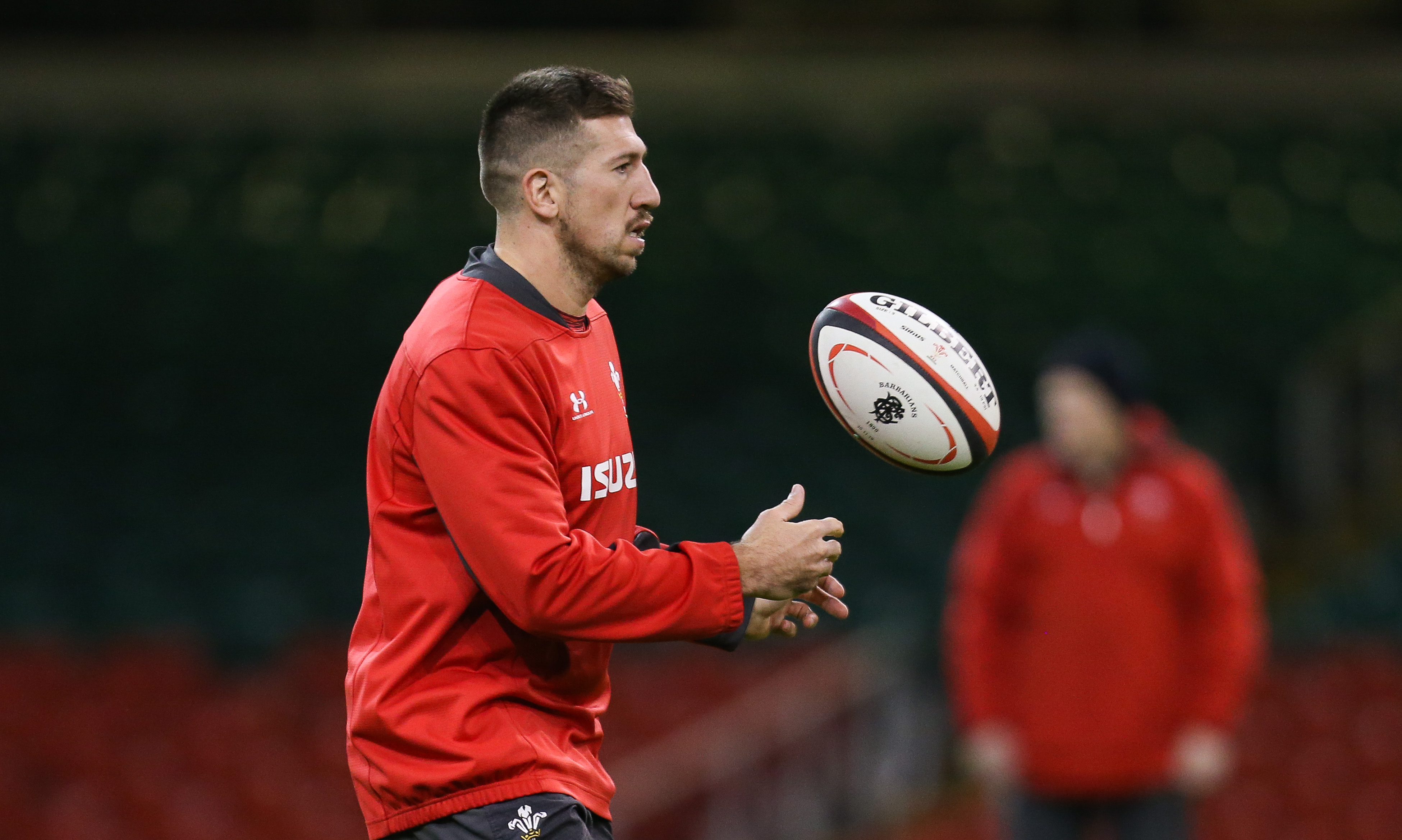 Justin Tipuric Wales Camp