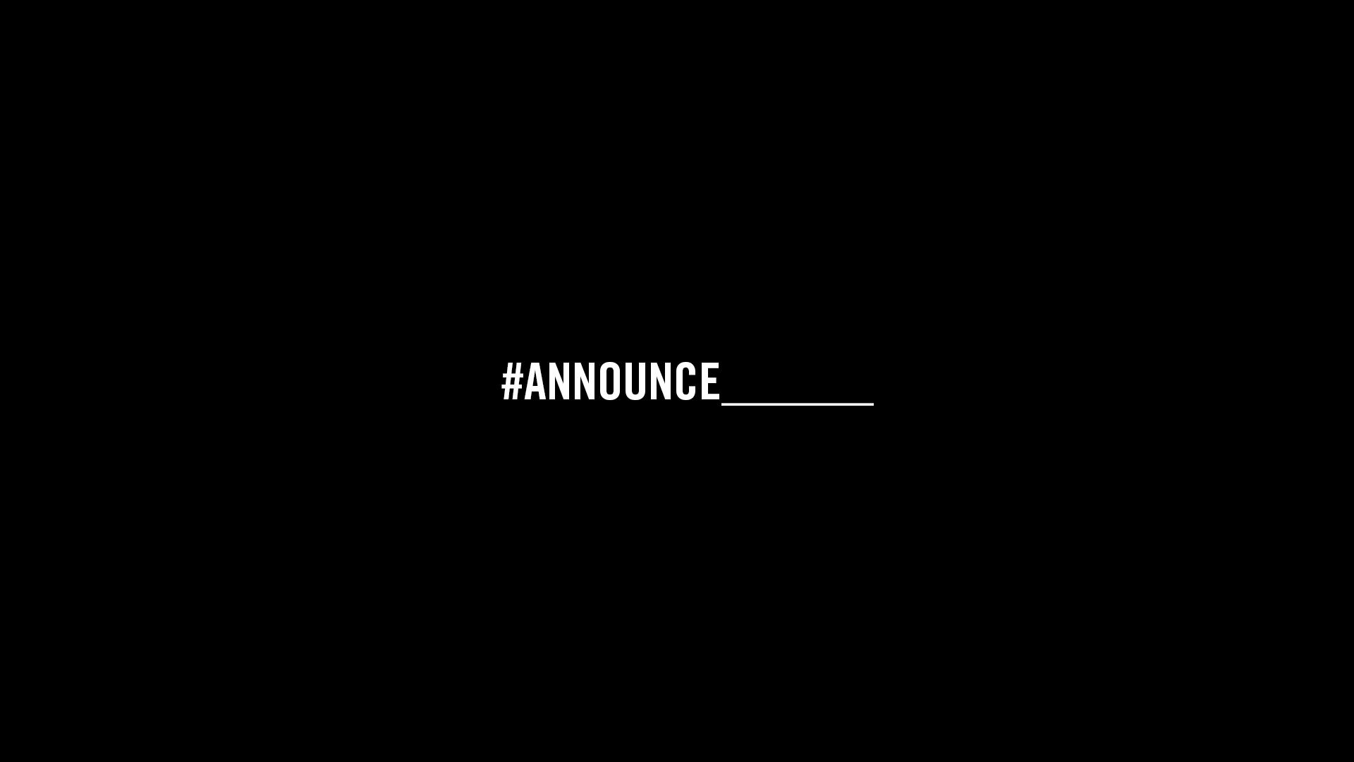 Announce Blank