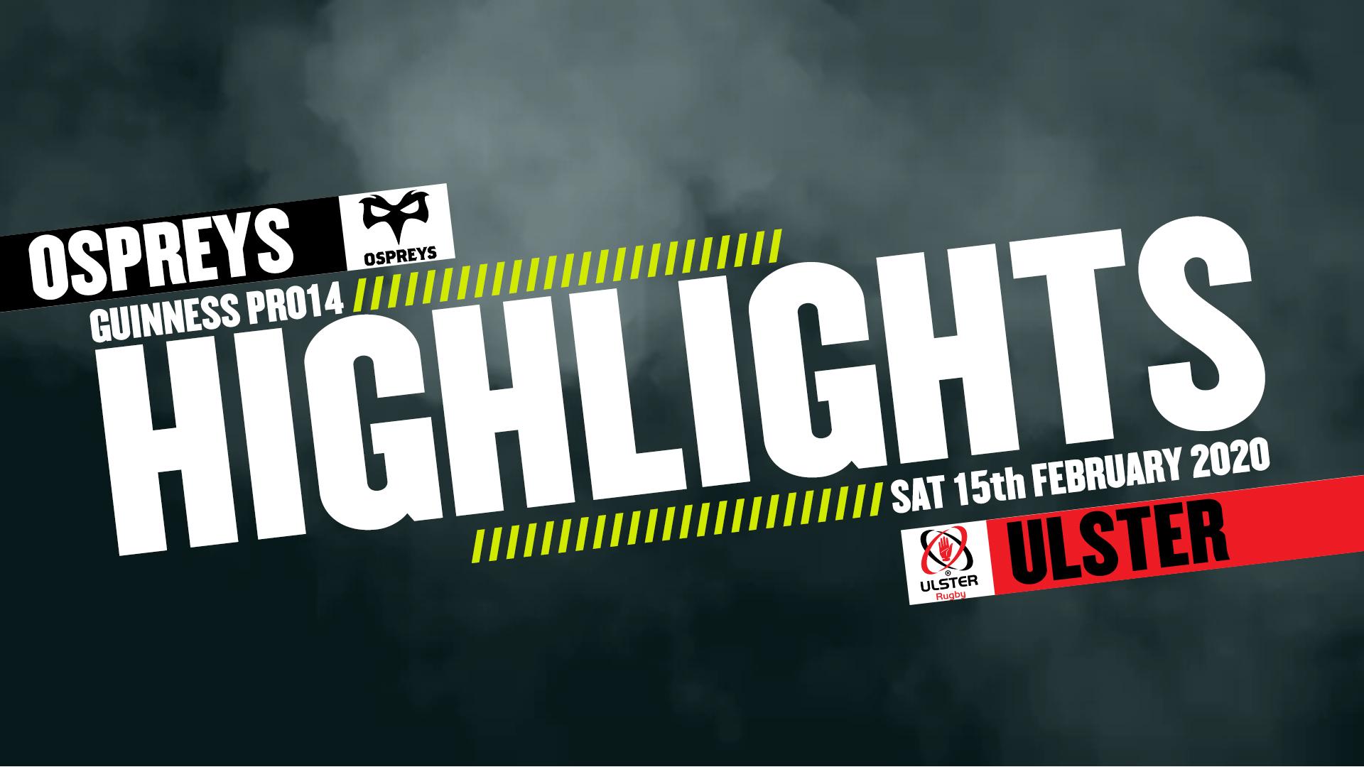 Ulster Highlights