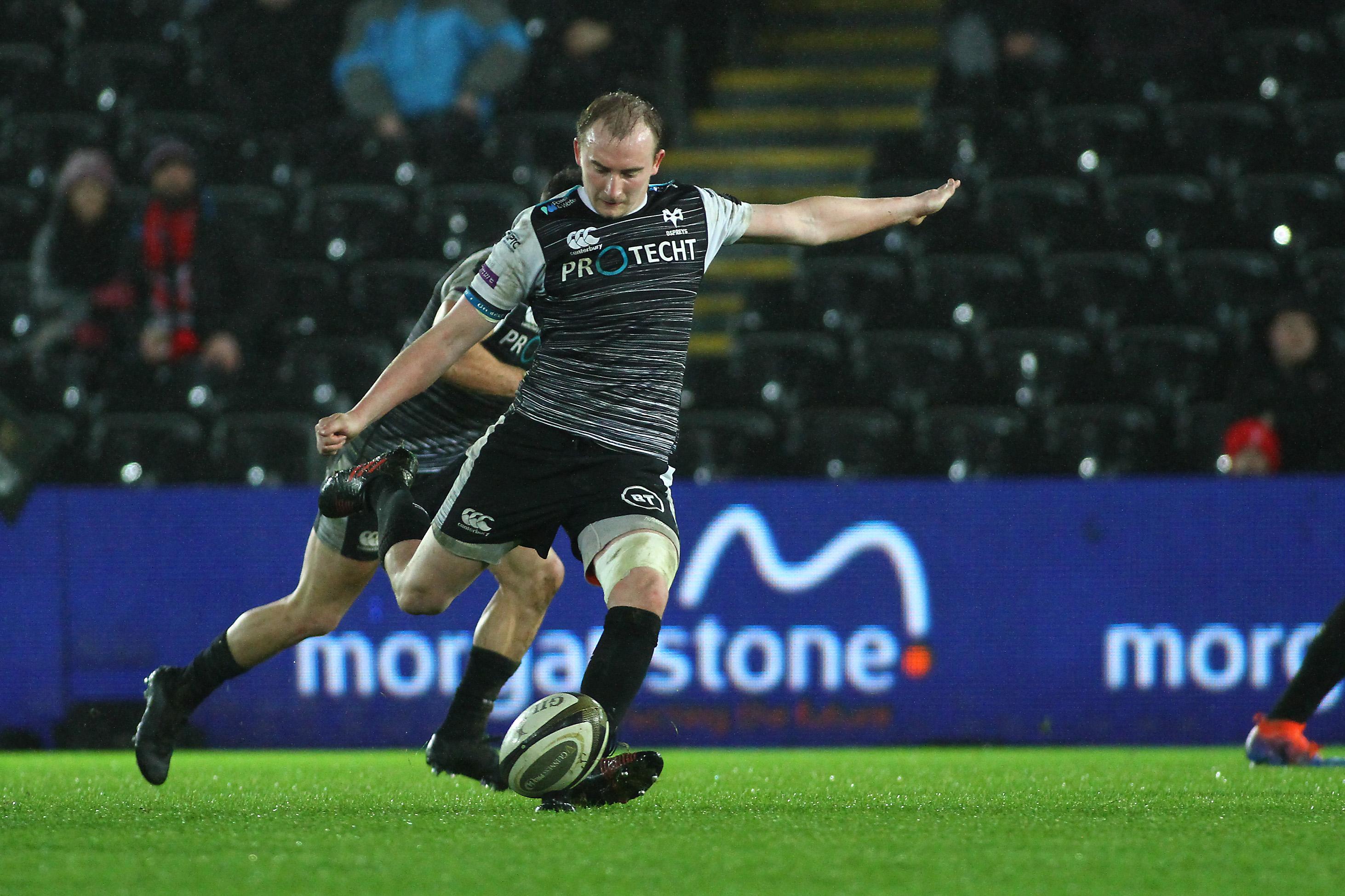 Luke Price Kick v Ulster