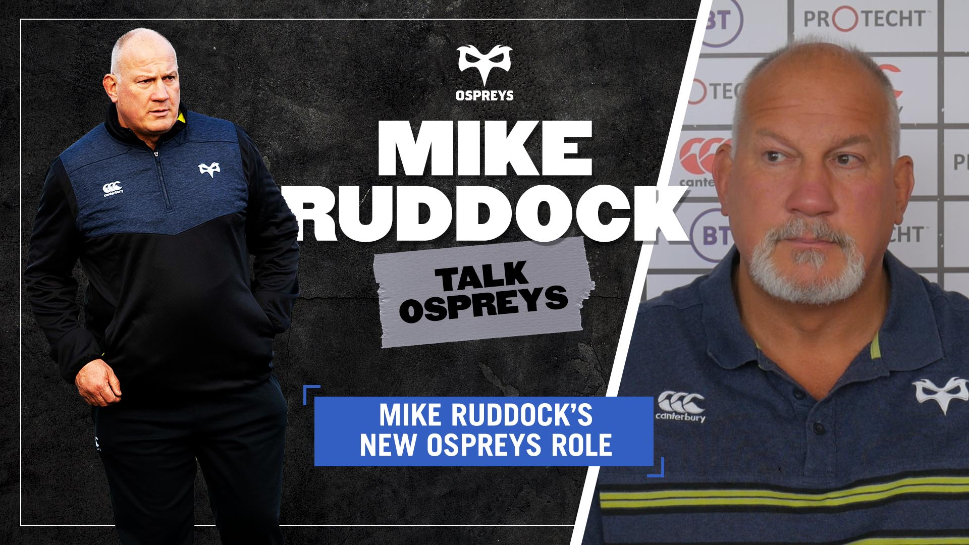 TALK OSPREYS Ruddock New Role