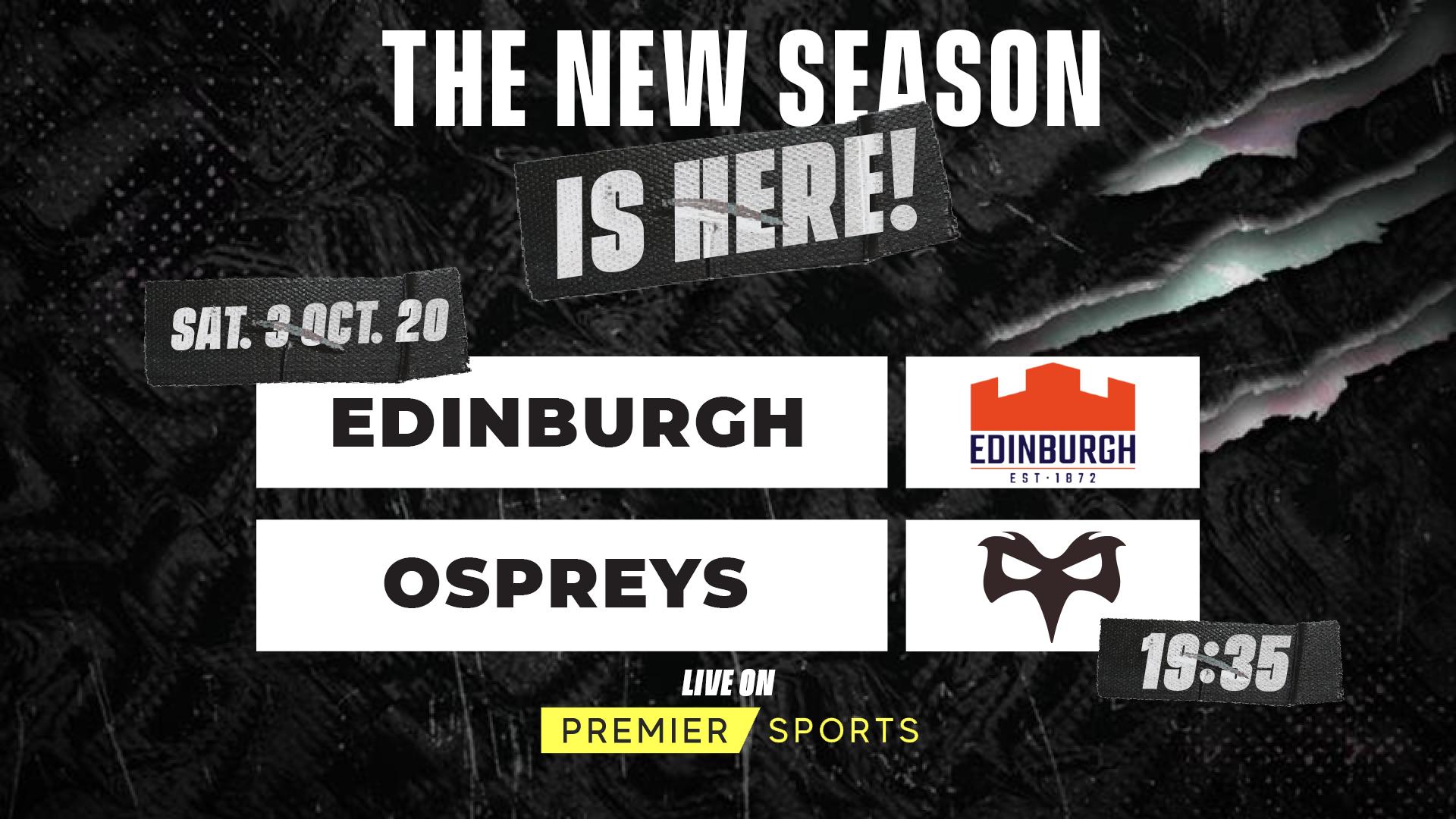 Edinburgh V Ospreys