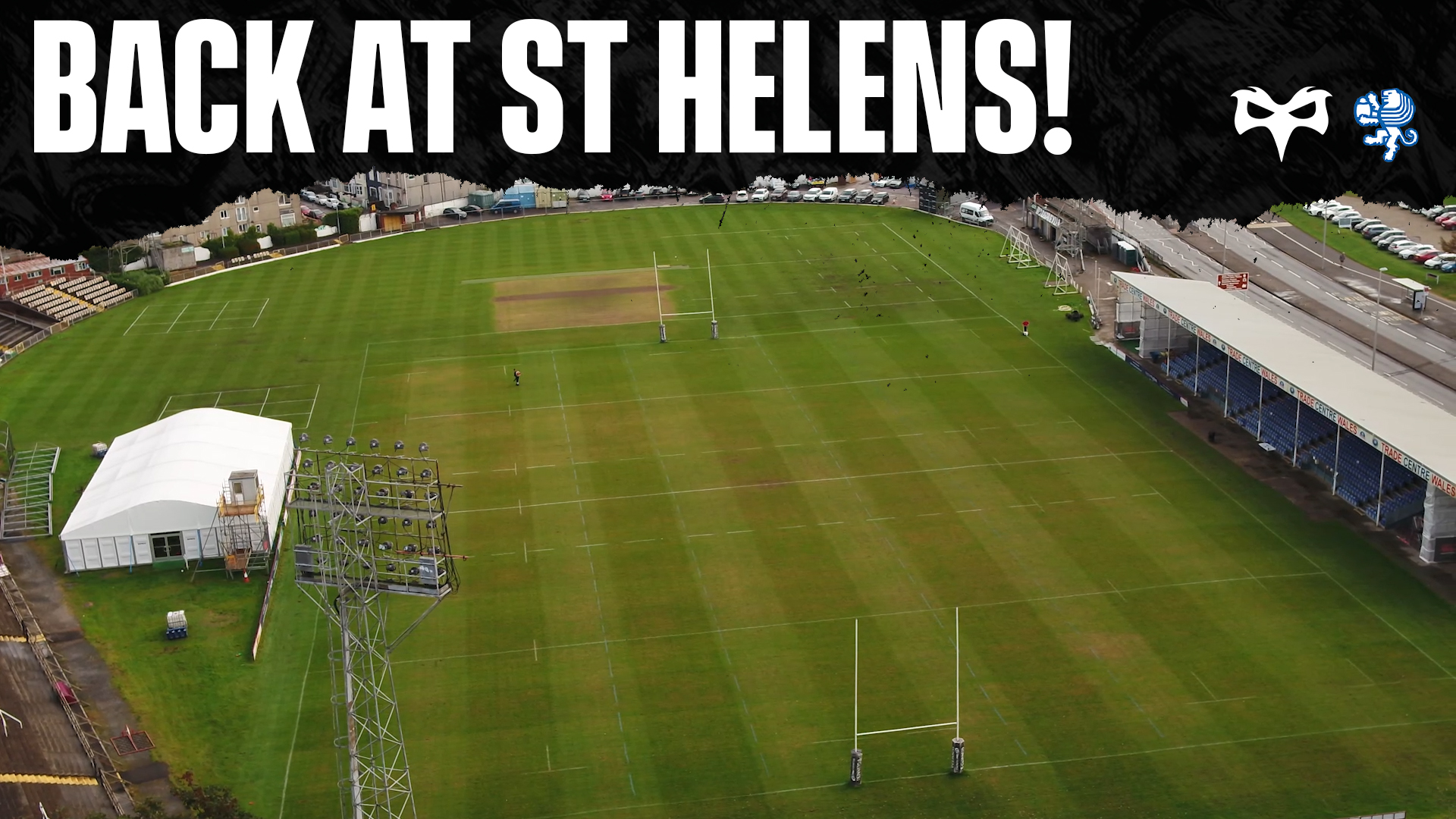 We're Back At St Helens...