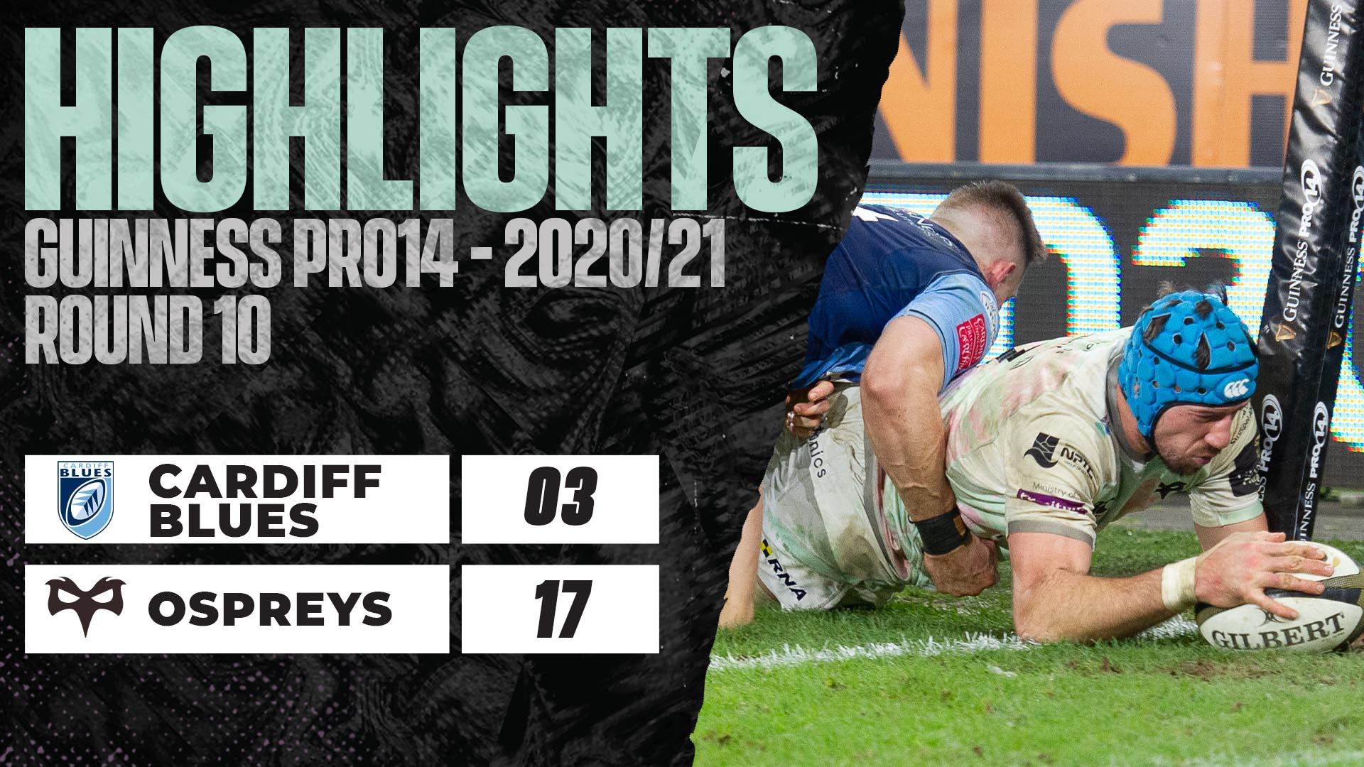 HIGHLIGHTS Cardiff v Ospreys