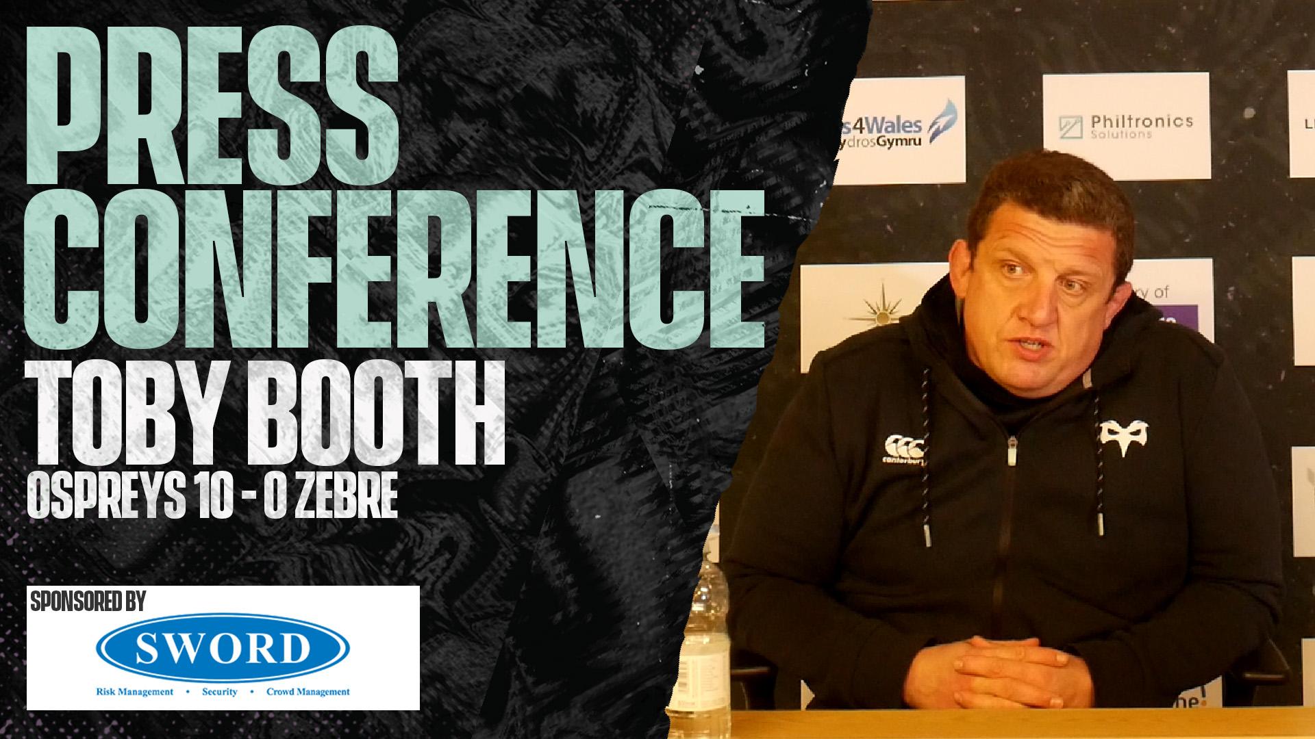 Press Toby post zebre