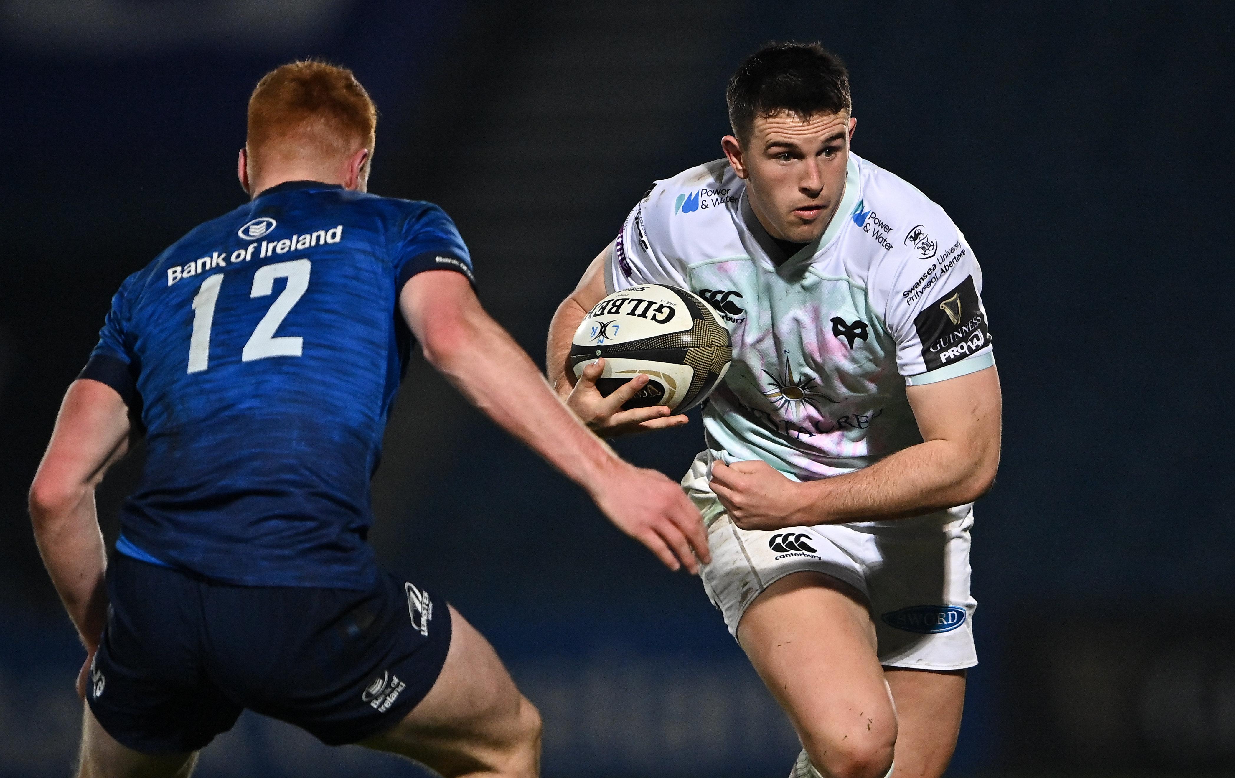 Owen Watkin v Leinster 2021