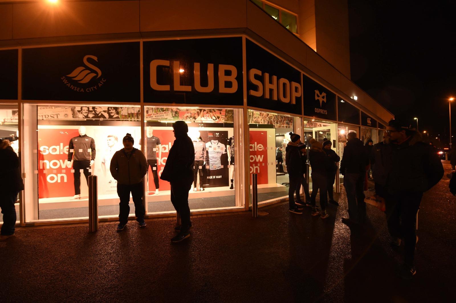 Ospreys Club Shop