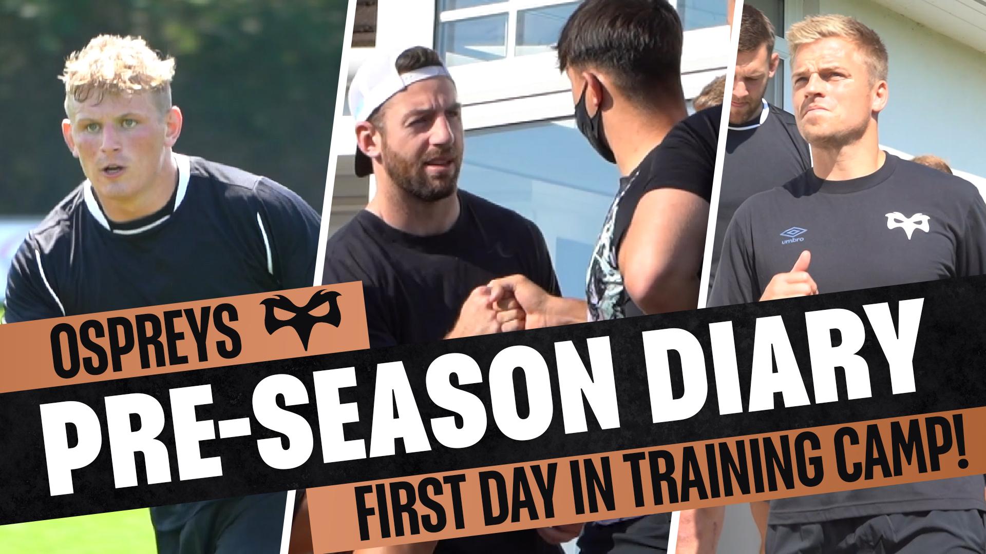 Pre-Season Diary